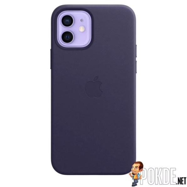 Deep Violet Leather Case