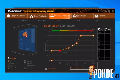 GIGABYTE Z590 AORUS Pro AX Review System Information Viewer