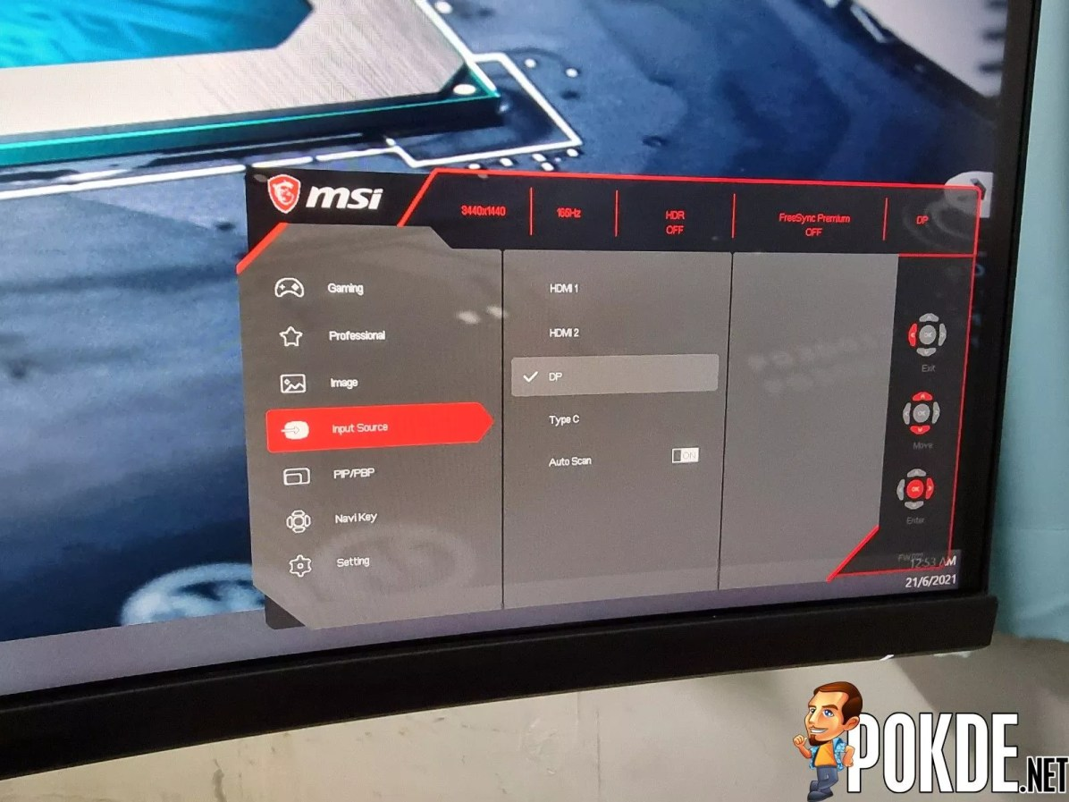 MSI MPG Artymis 343CQR 17