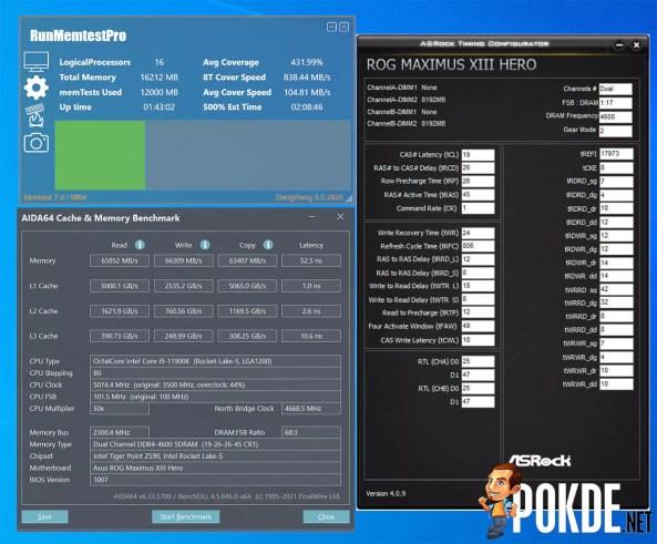Kingston FURY Renegade DDR4 RGB Review XMP 1