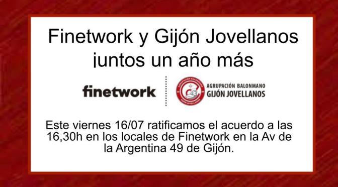 Finetwork y Gijón Jovellanos Juntos un año más