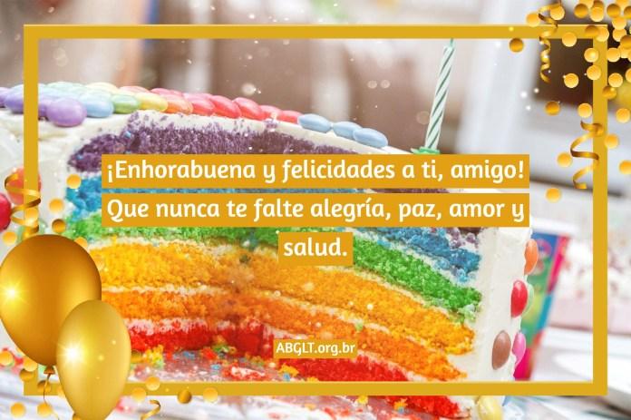 Mensaje de cumpleaños para un amigo