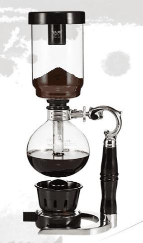 السايفون القهوة المقطرة