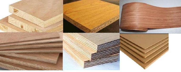 الأخشاب الصناعية