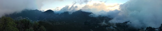 Panorama from Tiffin Top