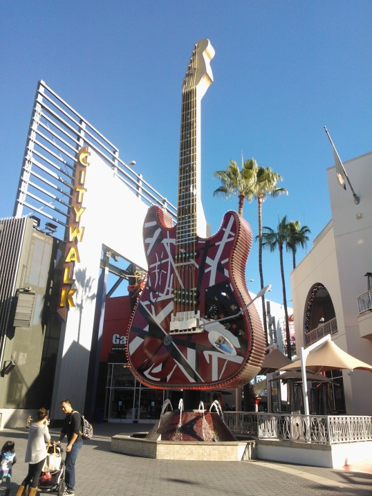 Hard Rock Cafe! at City Walk, Hollywood!