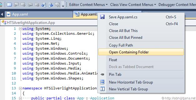 """在Visual Studio中為""""Open Containing Folder""""使用快捷鍵(提高效率) - zeusuperman1的專欄 - CSDN博客"""