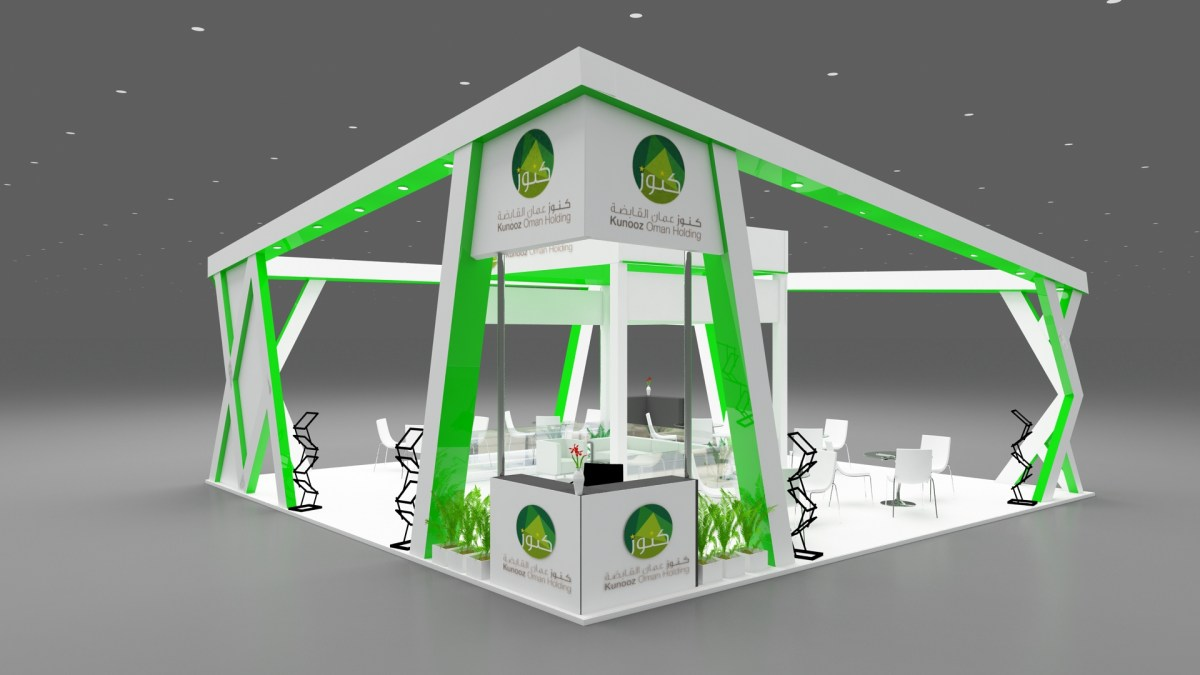 3d Stall Design For the Expo