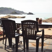 500px Photo ID: 149410565 - Namaste Cafe at Om Beach Gokarna