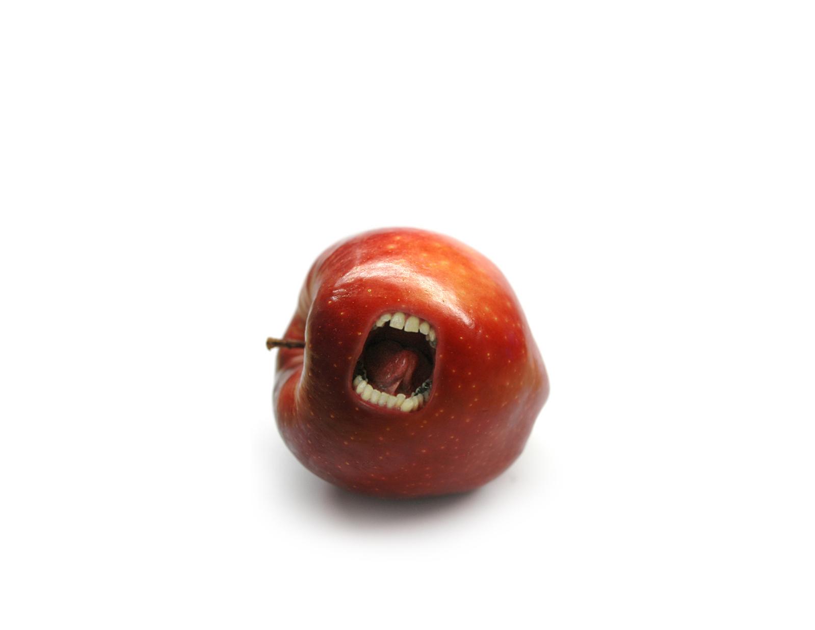 angry apple image