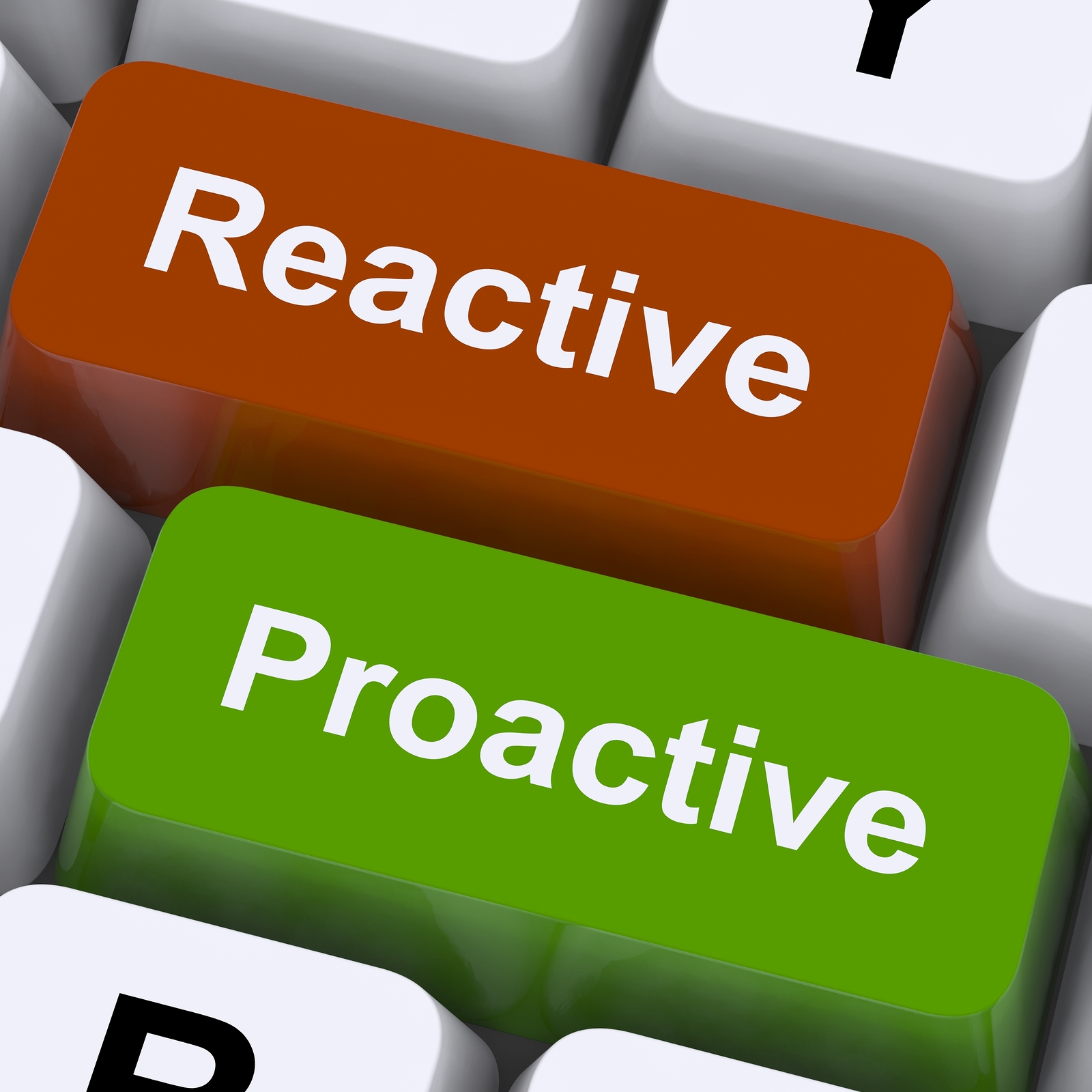 Itil Reactive Vs Proactive