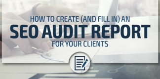 SEO audit report