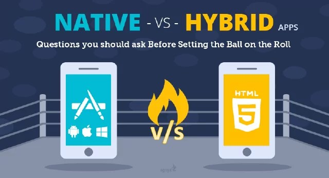 The battle between native and hybrid mobile apps