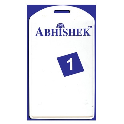 Single Side Pasting Holder of size 54x86 mm in White Colour and Vertical OrientationIt is ideal for business, schools and organization for all there ID card needs. Not only it protects the keep the id cards safe but also provides high branding value and