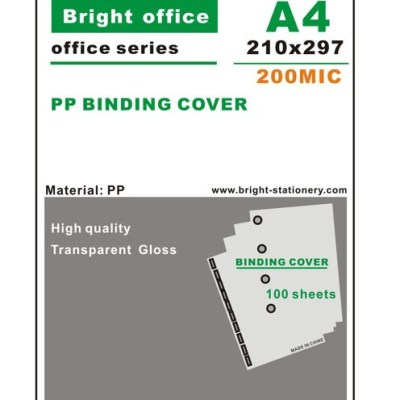 PP binding cover Office Supply