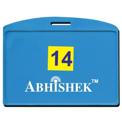 Single Side Pasting Holder of size 54x86 mm in Light Blue Colour and Horizontal OrientationIt is ideal for business, schools and organization for all there ID card needs. Not only it protects the keep the id cards safe but also provides high branding val