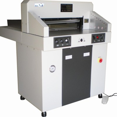 670 Hydrolic Paper Cutter in Digital Paper for use in office stationery products and supplies