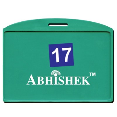 Single Side Pasting Holder of size 54x86 mm in Green Colour and Horizontal OrientationIt is ideal for business, schools and organization for all there ID card needs. Not only it protects the keep the id cards safe but also provides high branding value an