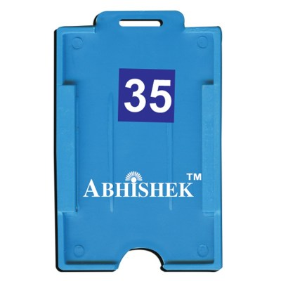 Two Side Insert Holder of size 54x86 mm in Light Blue Colour and Vertical OrientationIt is ideal for business, schools and organization for all there ID card needs. Not only it protects the keep the id cards safe but also provides high branding value and