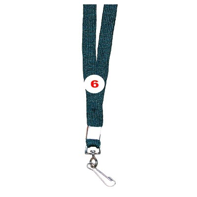 Military Green Colour Sleeve Tags with Hook Attachement type. 16 Inches in Length and 12 mm wide. Printable with multiple colours with custom logo and names
