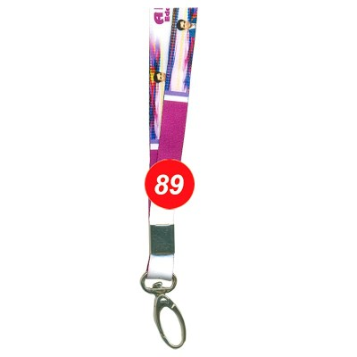 Multi Colour Colour Multi Colour Tags with Fish Hook Attachement type. 16 Inches in Length and 12 mm wide. Printable with multiple colours with custom logo and names