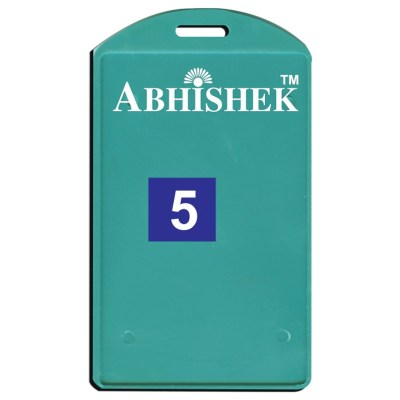 Single Side Pasting Holder of size 54x86 mm in Green Colour and Vertical OrientationIt is ideal for business, schools and organization for all there ID card needs. Not only it protects the keep the id cards safe but also provides high branding value and