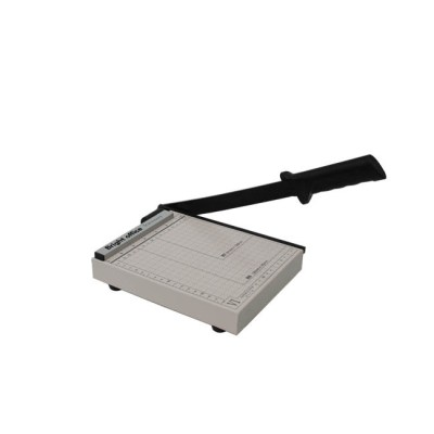 paper cutter Office Supply Size :20x18 cm,Cutting capacity :12sheets 70g paper,Packing :~1/10,Measure :39x22x53 cm