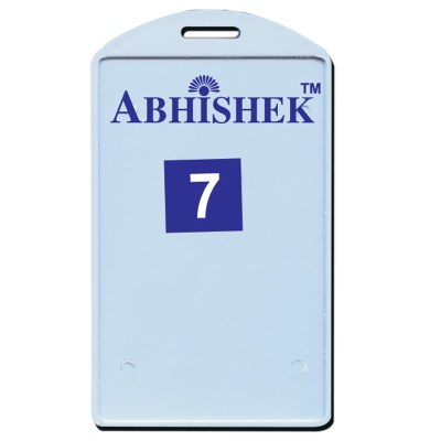Single Side Pasting Holder of size 54x86 mm in Sky Blue Colour and Vertical OrientationIt is ideal for business, schools and organization for all there ID card needs. Not only it protects the keep the id cards safe but also provides high branding value a