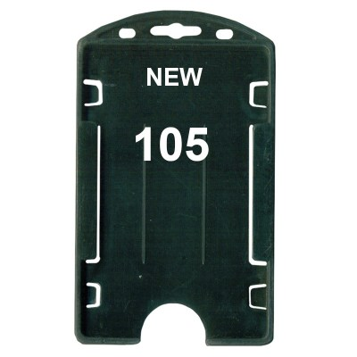 Insert Holder of size 54x86 mm in Black Colour and Vertical OrientationIt is ideal for business, schools and organization for all there ID card needs. Not only it protects the keep the id cards safe but also provides high branding value and personalizati