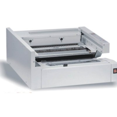 Glue binder Office Supply Full automated binder:Edition length , 330 mm:Edition thickness, 35 mm:Binding cycle/hour,200document/hour:Fusion ,30minutes:Power , 0.65KW AC220V(110V)00% 50Hz(60Hz):Net weight , 56kg:Machine size ,68x65x40 cm:Measure , 77x72x4
