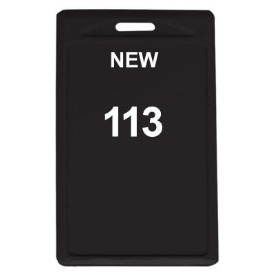 Two Side Pasting Holder of size 48x72 mm in Black Colour and Vertical OrientationIt is ideal for business, schools and organization for all there ID card needs. Not only it protects the keep the id cards safe but also provides high branding value and per