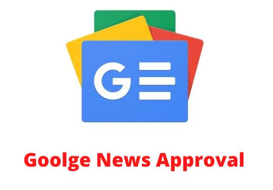Google news approval
