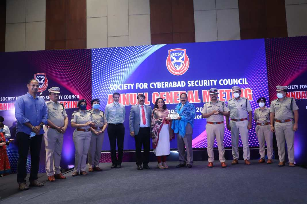 DGP Mahender Reddy suggests Cyberabad Police and SCSC to set up Centre of Excellence to effectively handle Cyber Crimes