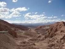 La Cordillera de sal, très découpée, ambiance lunaire