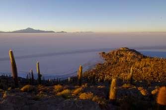 Au loin, le volcan Tunupa