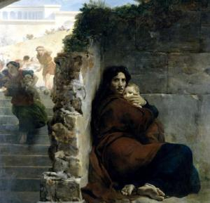 Massacre of the Innocents by Léon Cogniet