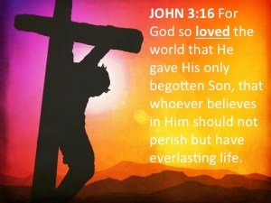 JOHN 3-16