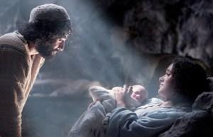Joseph naming baby