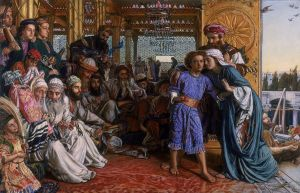 William Holman Hunt - The Finding of the Saviour in the Temple