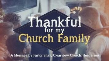 thankfulformychurchfamily