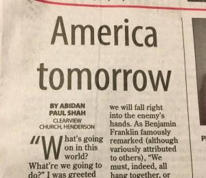 America Tomorrow by Abidan Shah