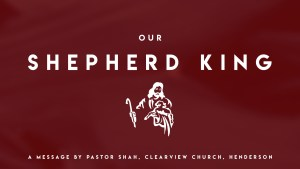 Our Shepherd King