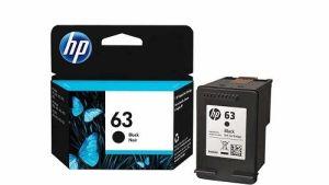 Hp 63 Black Inkjet Cartridge