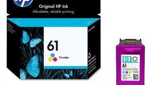 Hp 61 Color Genuine Inkjet Cartridge