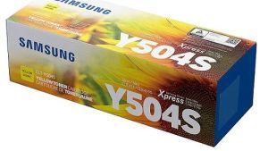 Samsung CLT-504s Yellow Toner Cartridge