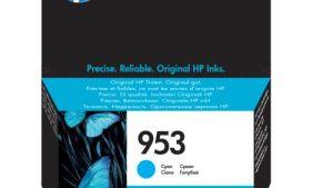 Hp 953 Cyan Inkjet Cartridge