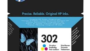 Hp 302 Tri-color Genuine Ink Cartridge