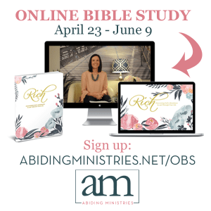 You're Invited! RICH Spring Online Bible Study