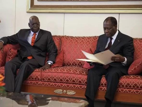 Salifou Dialo et Ouattara