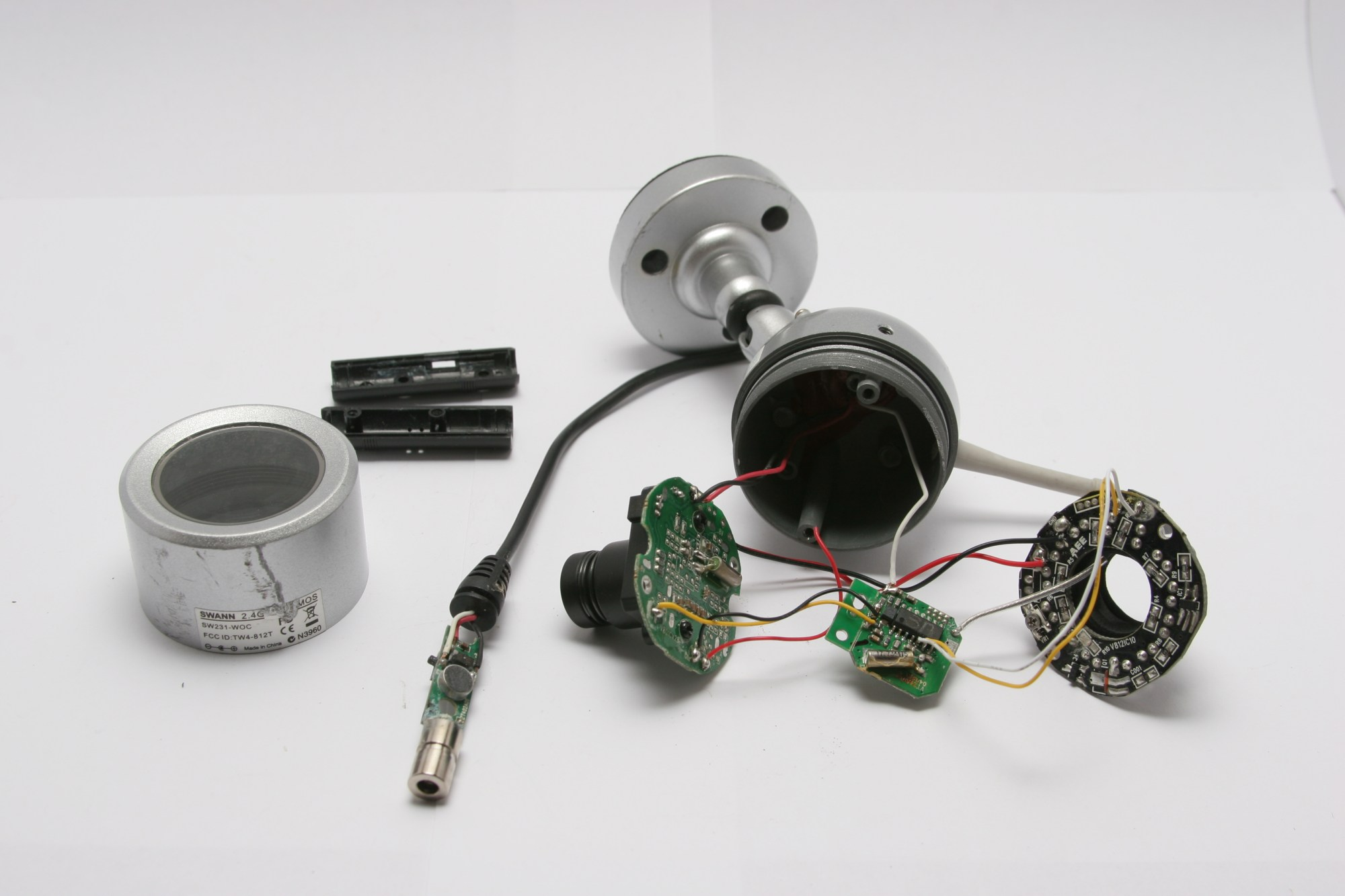 hight resolution of teardown swann night hawk wireless security camera abieneman s blog infrared camera wiring schematic